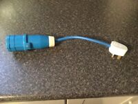 Caravan Hook Up Adaptor 230v UK Mains Conversion Plug