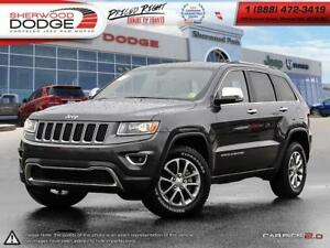 2016 Jeep Grand Cherokee LIMITED|V6|PREMIUM LEATHER|SIRIUS|BLUET