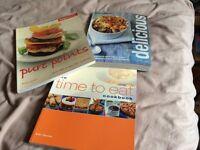 Weight Watchers Cook Books - set of three