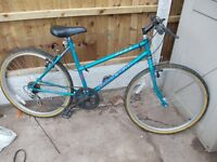 "ladies raleigh mountain bike 26"" wheels"