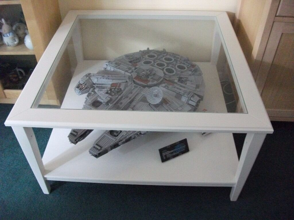 Lego millennium falcon collectors edition built into coffee table in christchurch dorset Collectors coffee table
