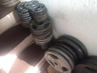 180 kg tri grip olympic weights