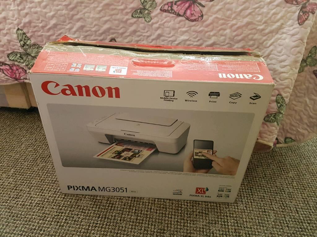 CANON PIXMA MG3051 WIRELESS PRINTER