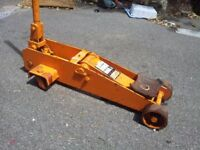 Epco 4 Tonne Classic Vintage British Trolley Jack