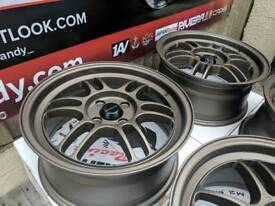 "15"" 16"" 17"" Ultralite F1 alloy wheels 4x100 5x114.3"