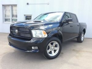 2012 Ram 1500 Sport, 4X4, NAVIGATION, SUNROOF, BACKUP CAM.