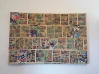 Vintage Comic Marvel Heroes Canvas For Sale!