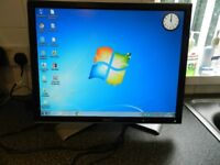 Dell 20 inch pc monitor ideal for cctv