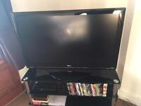 TV and Stand,
