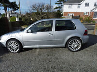 VW GOLF 1.9 GT TDI 53 REG. 6 SPEED AND 150bhp. MOT -FEB 2018