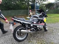 Great first bike gsxf600 long mot low mileage