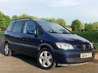 2004 54 VAUXHALL ZAFIRA 1.6 89K FULL DEALER HISTORY 12 STAMPS HPI CLEAR 7 SEATER