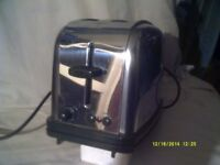 A SUPER CHROME TOASTER , 1950s BLING as NEW & FULL WORKING ORDER ++++
