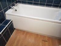 ~~## 170x71cm Enamel Steel bath with taps ##~~