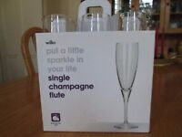 6 Boxes of 6 Champagne Flutes