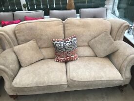 Beautiful Vale Bridgecraft Settee and Arm Chair