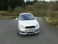 CHEVROLET AVEO 1.4 LT 2008, 74,168 MILES. MOT NOVEMBER. IDEAL FIRST CAR. TEL BRENDAN 07985739678.