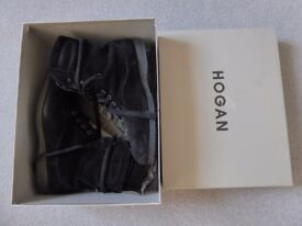 Hogan Suede Ladies Boots size 6.5 or 40