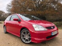 2003 Honda Civic Type R *Watch Video* Superb History - 2 owners from new - Long MOT no advisories