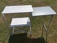 CAMPING KITCHEN KITCHEN STAND WITH TABLE