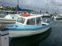 It's sold fishing boat Redbay fast fisher 21