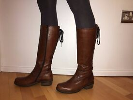 Wolky Pardo Boots - Size 38 (UK 5)
