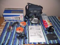 PANASONIC DVD VIDEO CAMERA 30 X OPTICAL ZOOM HARDLY USED