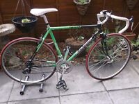 "Raleigh Pro Race Racing bike.21""Large. Reynolds 501"