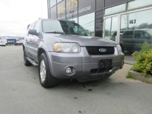 2007 Ford Escape LIMITED AWD LEATHER H.S. SUNROOF