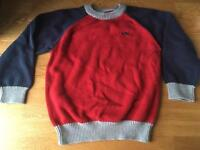 Mothercare boys jumper 3-4 years