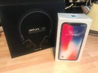 Apple iPhone X 256gb - Vodafone - Bluetooth Headphones