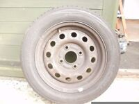 ford ka /fiesta 165x65x13 tyre on rim