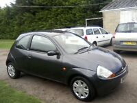 FORD KA 1-3 STYLE CLIMATE 2008 (58 PLATE) 77,000 MILES WITH SERVICE HISTORY. 2 PREVIOUS OWNERS.