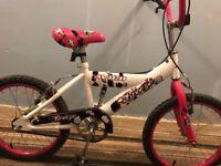 Girls bike for age 5-8