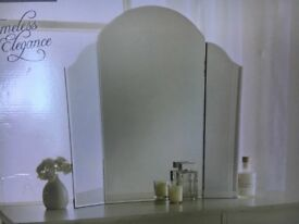Dressing table mirror . 56x60 cm . New,boxed