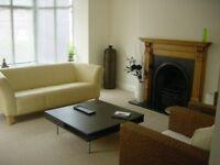 Leather sofa Cream