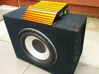 """12"""" subwoofer with edge amp"""