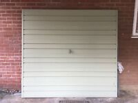 UP AND OVER GARAGE DOOR - with fittings and key - FREE if you can collect promptly