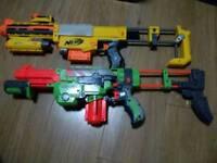 NERF VORTEX PRAXIS GUN + Nerf N-Strike Recon CS-6 Blaster