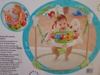 Brand New - Fisher Price Rainforest Jumperoo in unopened sealed box