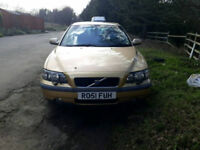 ++++QUICKSALE WANTED AUTOMATIC VOLVO S60 FULL LEATHER+++STARTS AND DRIVES GOOD 1 YEAR MOT++++