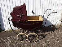 Vintage Marmet Dolls Pram, British, 1920S, Collectors Item, Restoration Project
