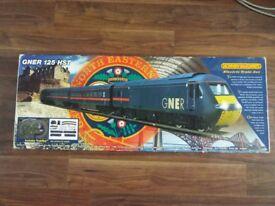 GNER 125 HST Model Train Set Hornby 00-Guage