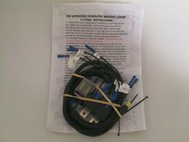 Brand new Uprated Headlamp Wiring Loom for Vw Mk2 Golf / Mk2 Jetta