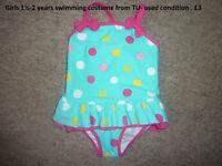 Girls swimsuits