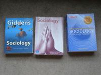 Paperback sociology books - Haralambos and Holborn