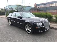 ***CHRYSLER 300C 3.0 CRD V6 SRT DESIGN ESTATE FULLY LOADED RARE SAT NAV LEATHER*** £5990