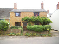 2 double bed period cottage with garden to rent from August 1st in Hook Norton.