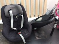 Maxi cosi pearl and isofix. Immaculate condition