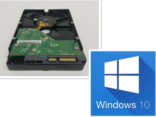 "500GB 3.5"" Dell 790 990 3010 7010 9010 Desktop HDD W/ Windows 10 PRO installed"